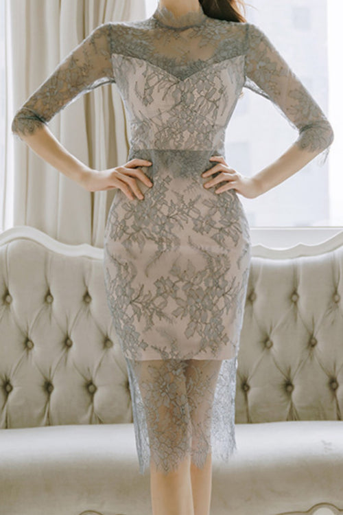 Savina Italian Lace Dress