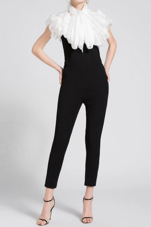 Paris High Waist Jumpsuit