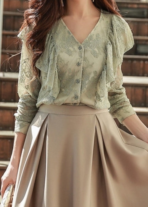 Mona Lace Blouse