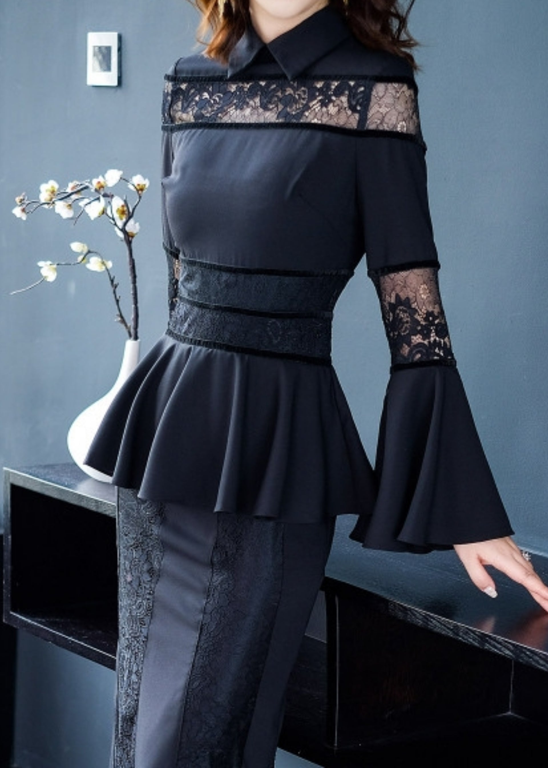 Black Beauty Lace Dress