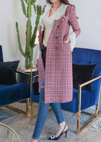 Alegra Tweed Dress