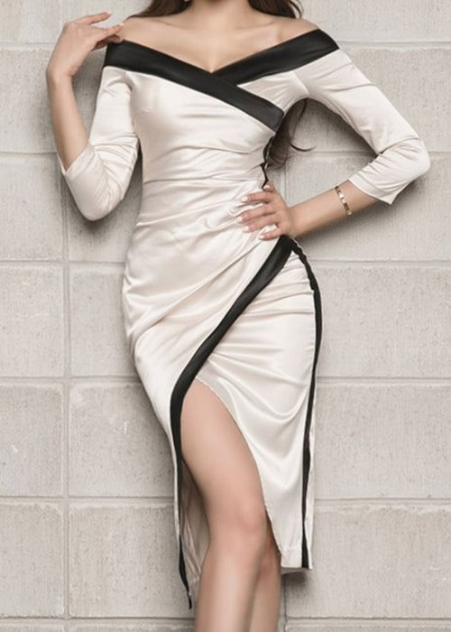 Irene Satin Dress