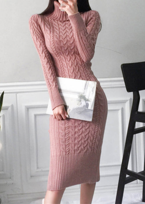 Redemption Knit Dress Pink