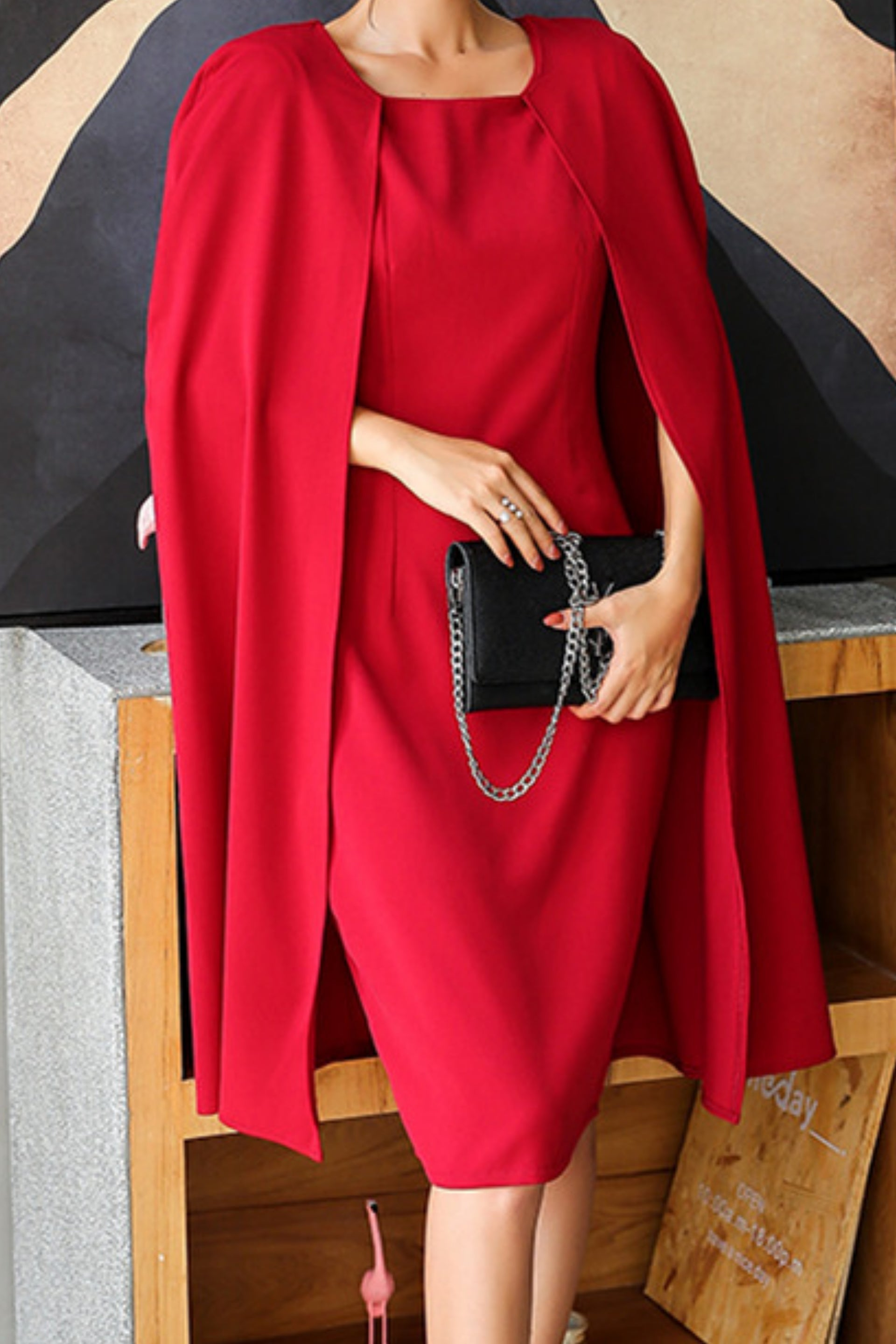 Passion Cape Dress