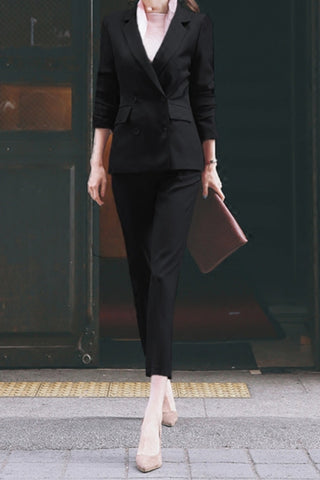 Charmaine Suit Black