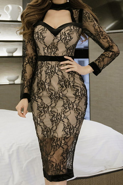 Miami Lace Dress