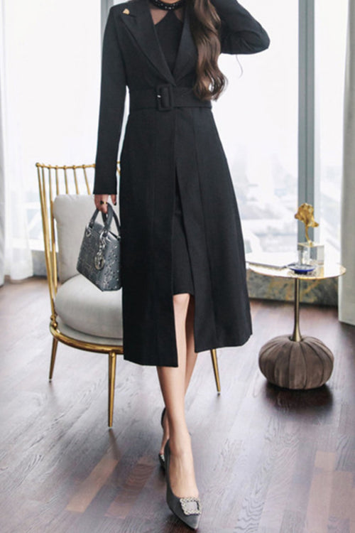 Stella Coat Black