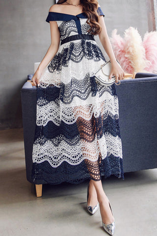 Galaxy Lace Dress