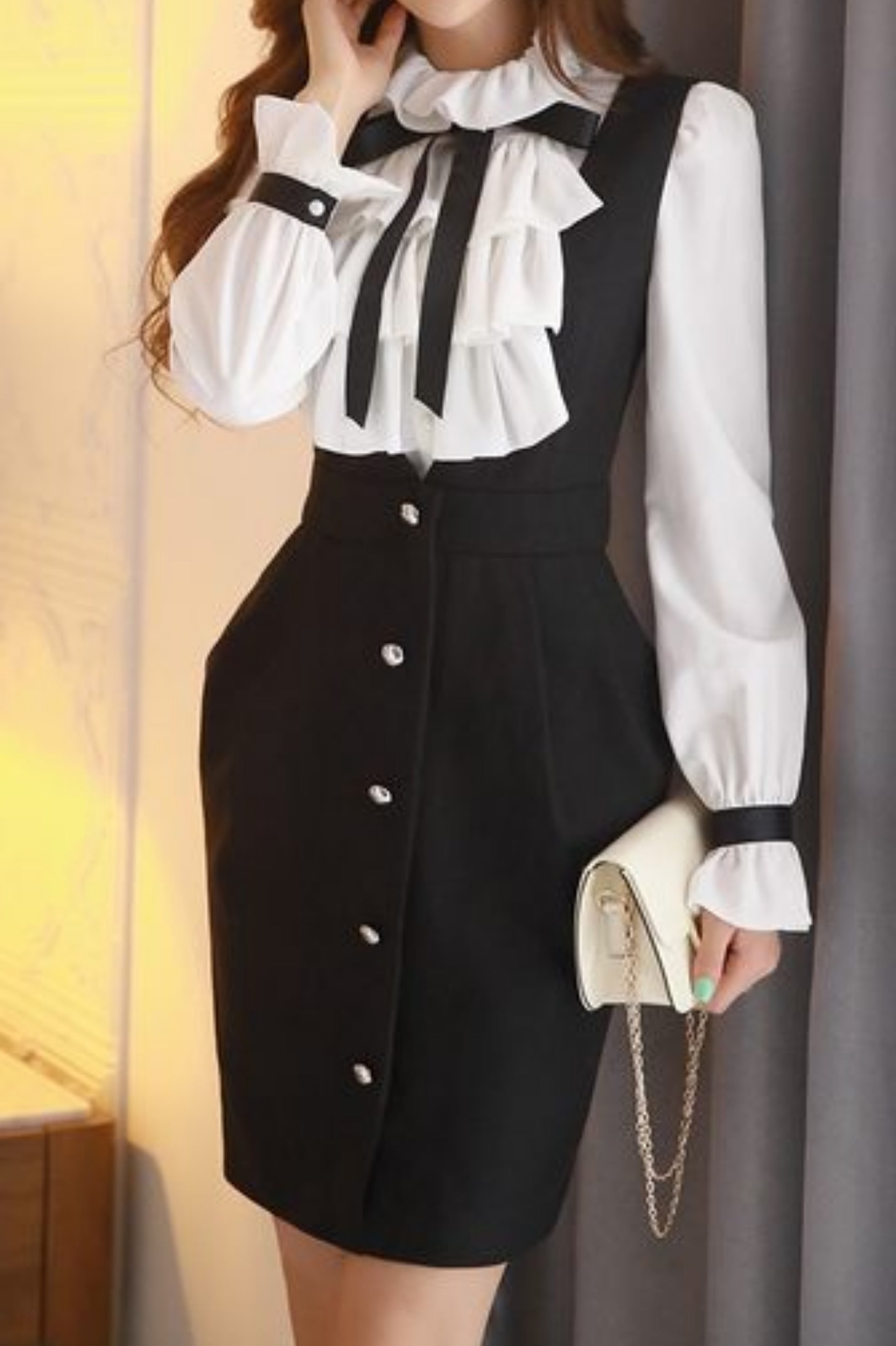 Blair Suspenders Dress