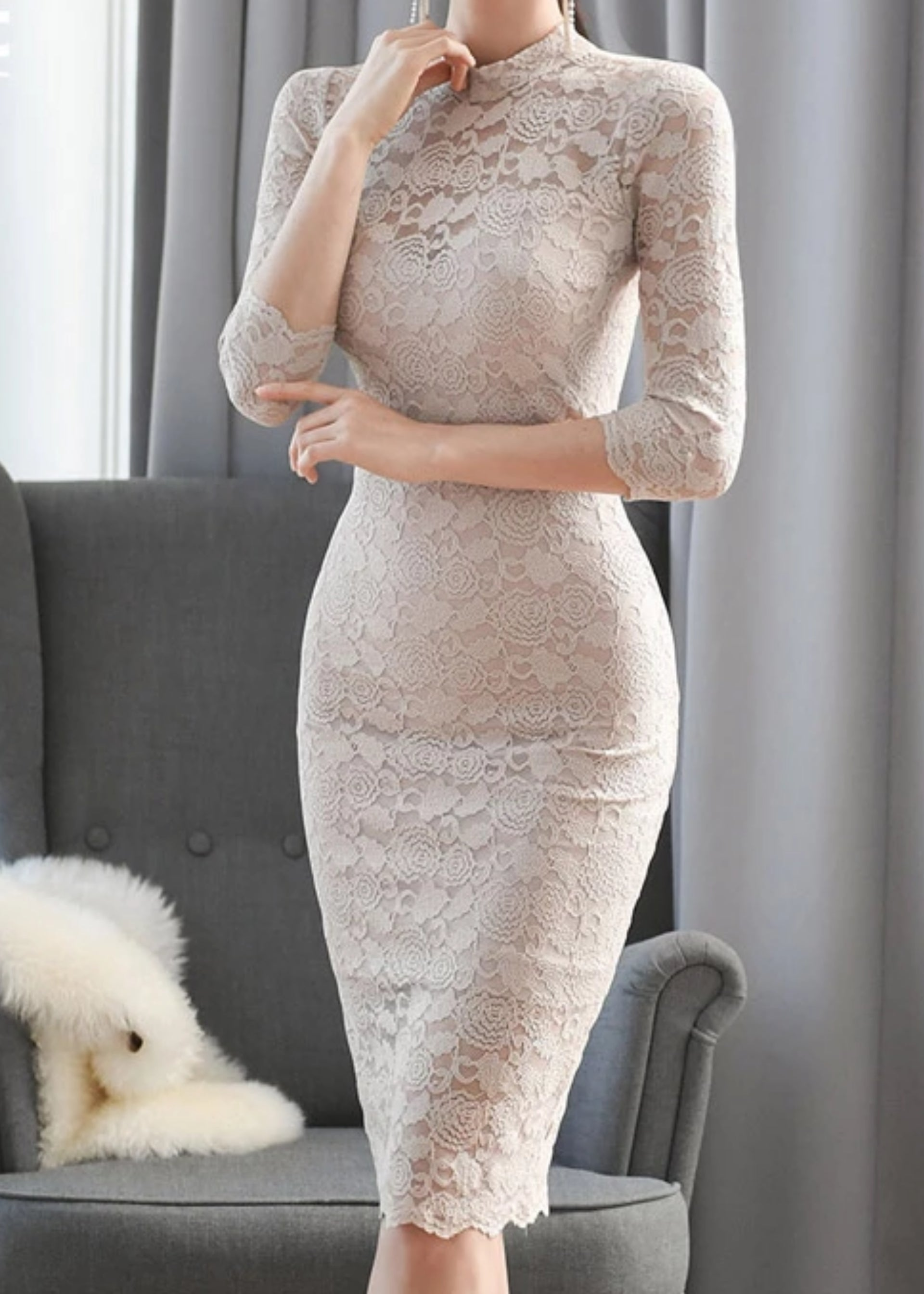 Yael Lace Dress