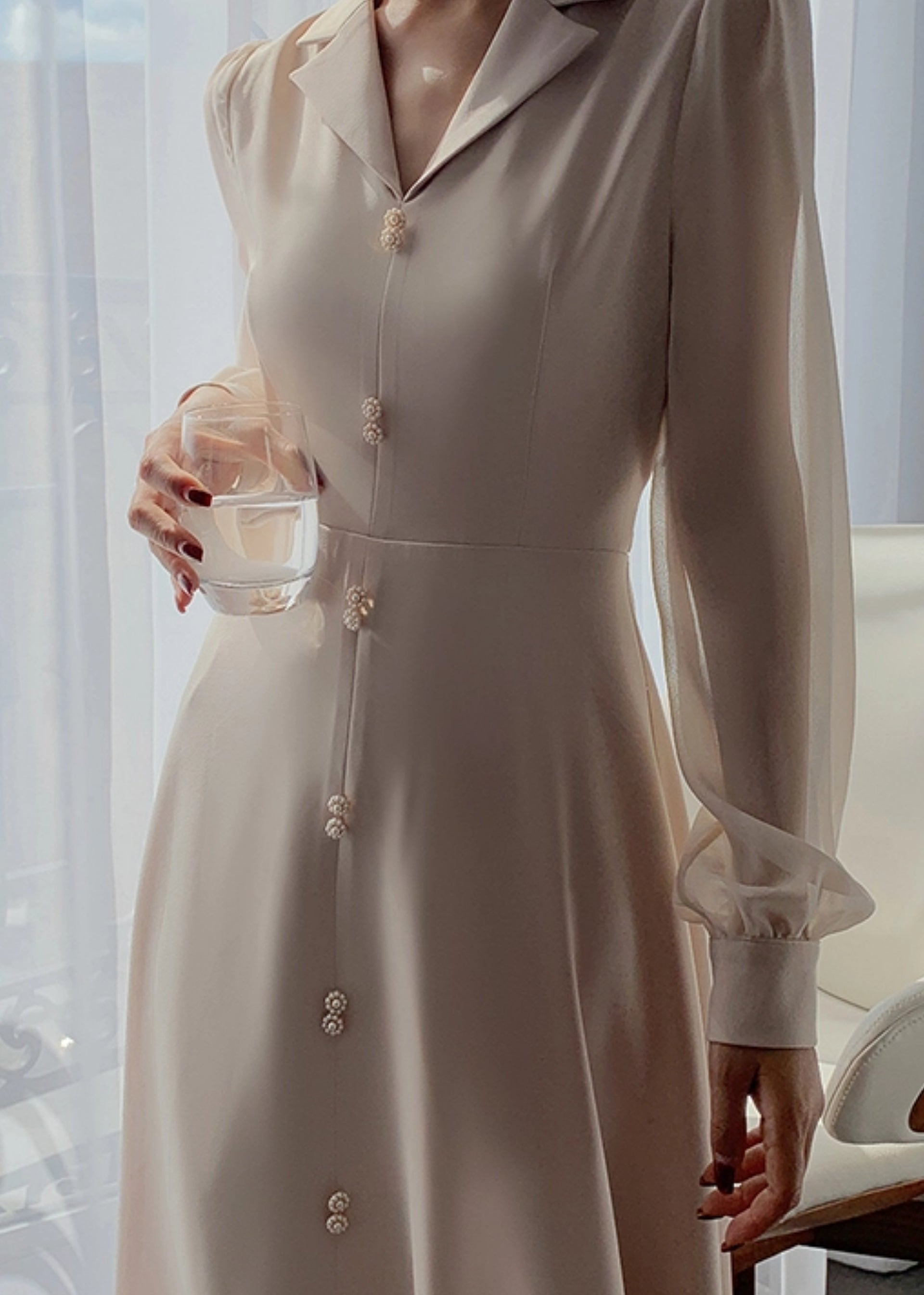 Ruth Chiffon Dress