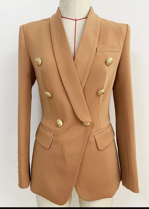 Muse Royal Italian Blazer Tan
