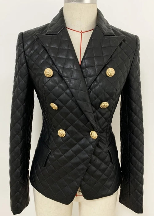 Dominion Vegan Leather Jacket