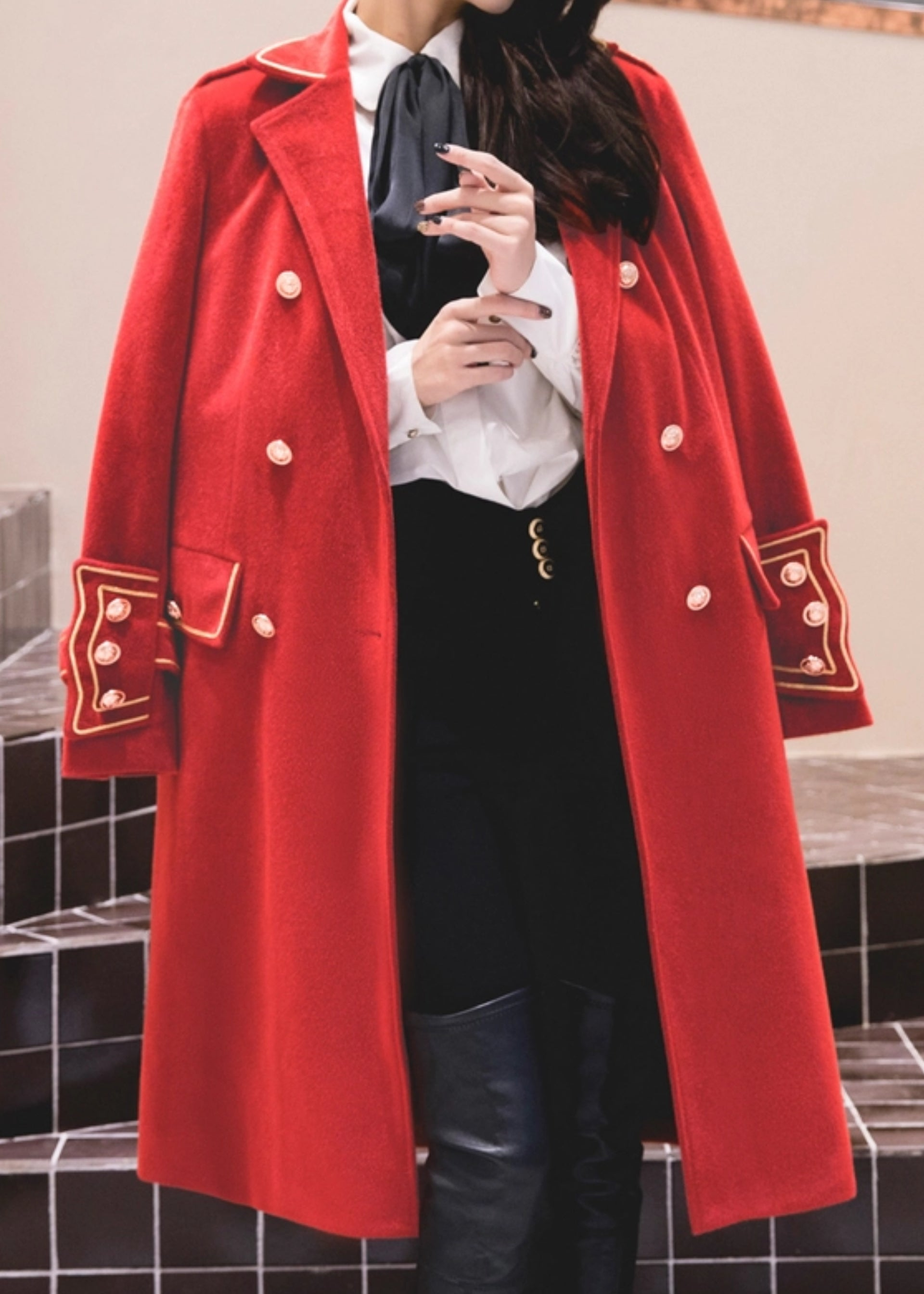 Manhattan Soho Coat Red