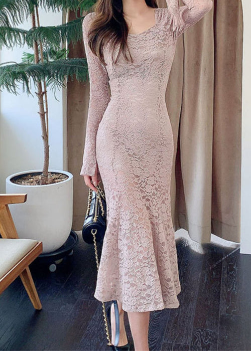 Krystal French Lace Dress