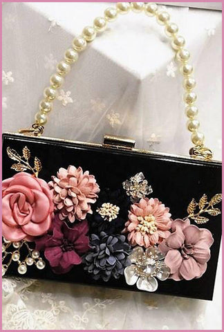 Dubai Glam Bag Black