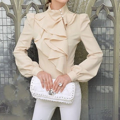 Romeo Loves Juliet Ruffle Luxe Blouse