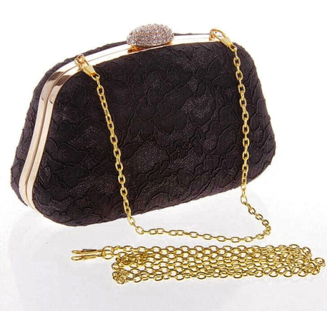 Cannes Lace Bag Black