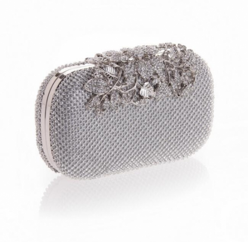 Dubai Glam Bag Silver
