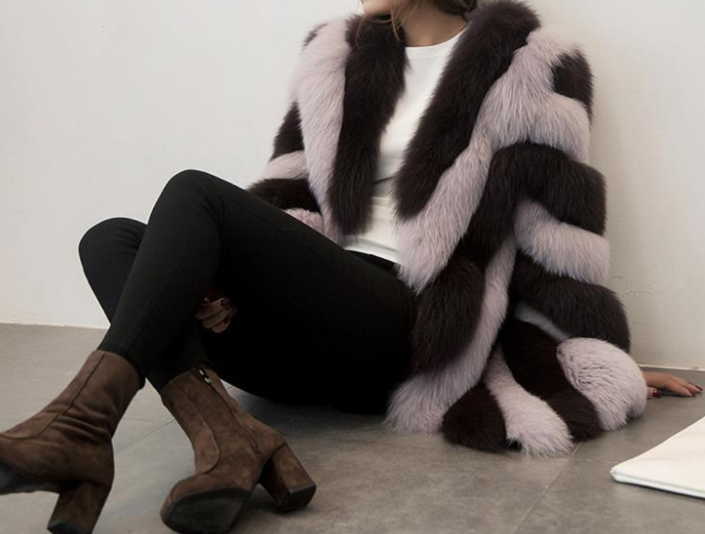 Glorious Vegan Fur Coat