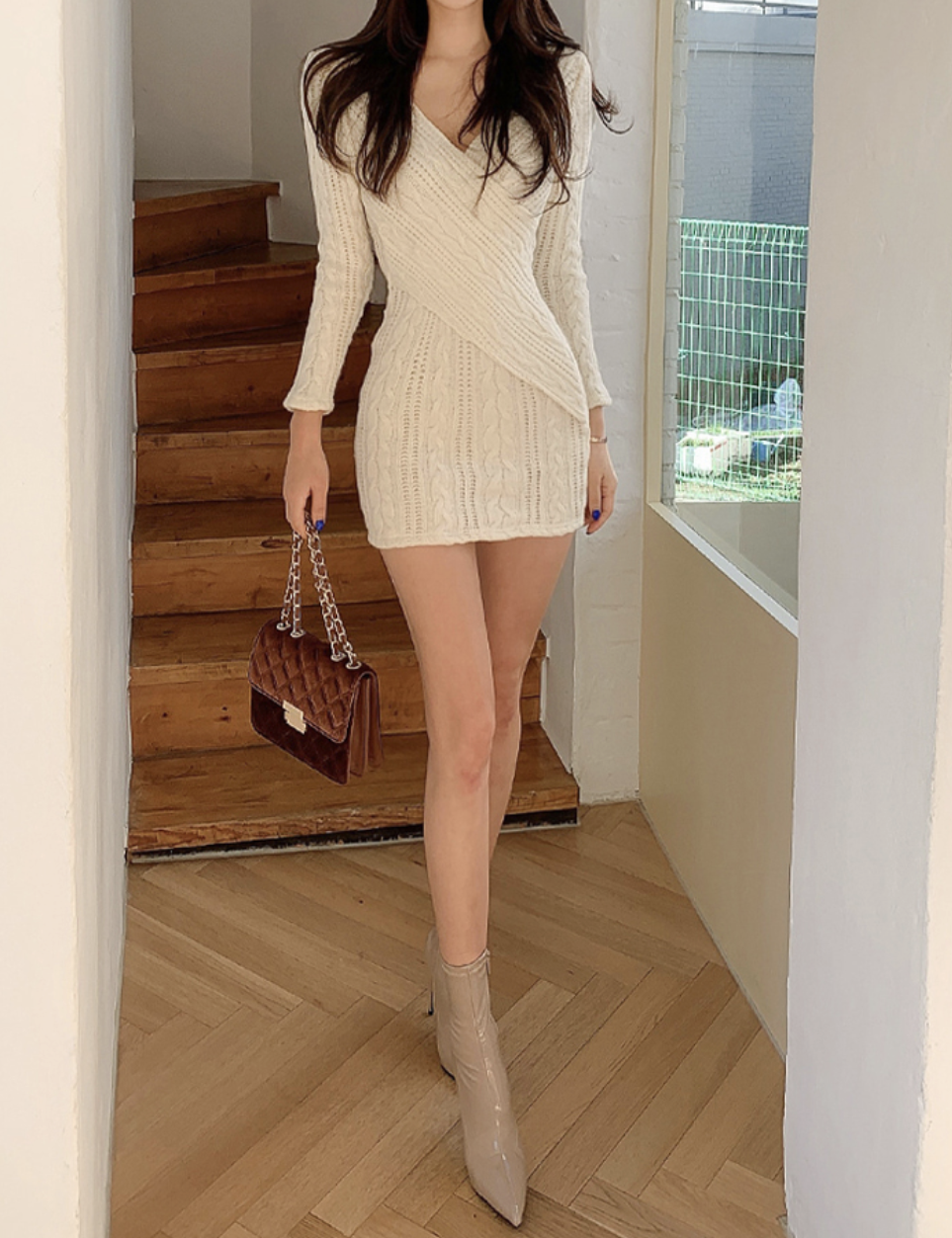Miami Knit Mini Dress
