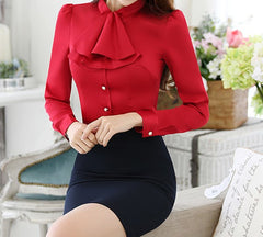 Crown Collar Blouse