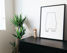 Load image into Gallery viewer, alabama art print