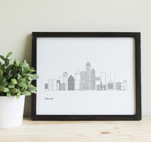 Load image into Gallery viewer, Dallas Texas Skyline