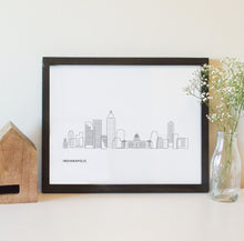 Load image into Gallery viewer, Indianapolis Indiana Skyline