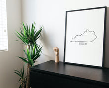 Load image into Gallery viewer, kentucky art print