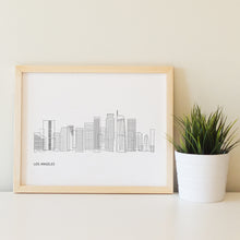 Load image into Gallery viewer, Los Angeles California Skyline