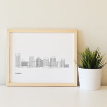 Load image into Gallery viewer, Phoenix Arizona Skyline