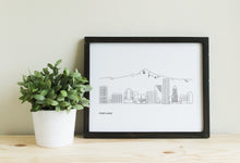 Load image into Gallery viewer, Portland Oregon Skyline with Mt Hood