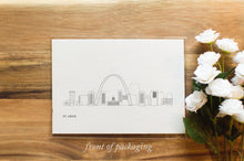 Load image into Gallery viewer, St Louis Missouri Skyline