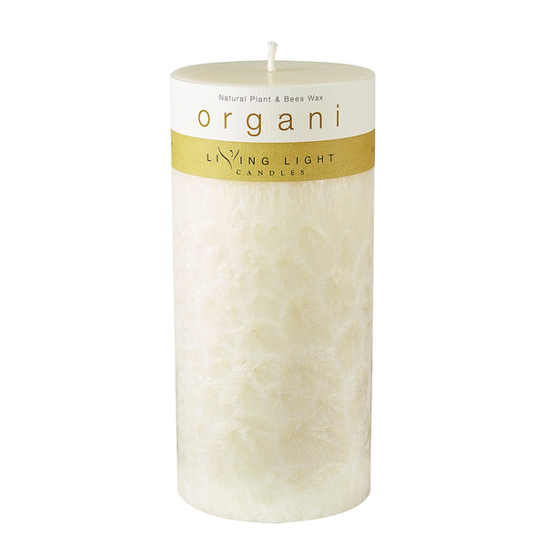 Fragrance Free Organi Pillar Candles