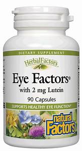 Herbal Eye Factors - with Lutein - Natural Factors