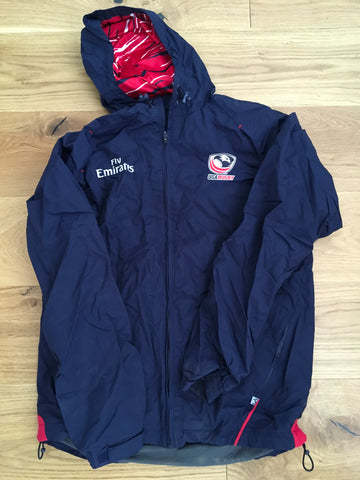 Mike Friday - Team USA Rugby 7's Training Showerproof Jacket [Blue]
