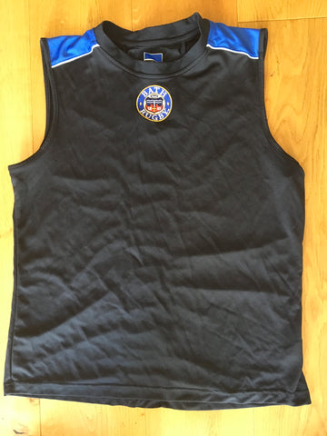 Max Lahiff - Bath Gym Vest [Black & Blue]