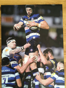 Canvas Block Print - Luke Charteris  - Bath