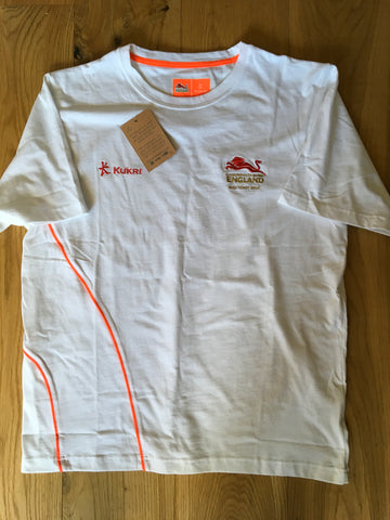 Ollie Lindsay-Hague - Commonwealth Games 2018 T-Shirt [White & Orange]