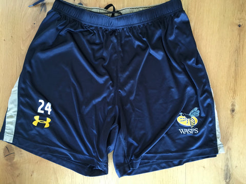 Simon McIntyre - Wasps Gym / Sparring Shorts [Black]