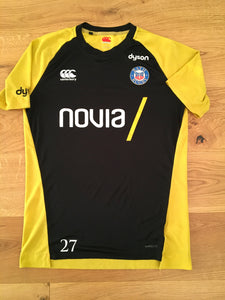 Jonathan Joseph - Bath Gym T- Shirt [Black & Yellow]