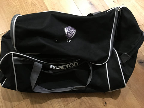 Tom Varndell - Charente Rugby Travel Bag [Black & Grey]