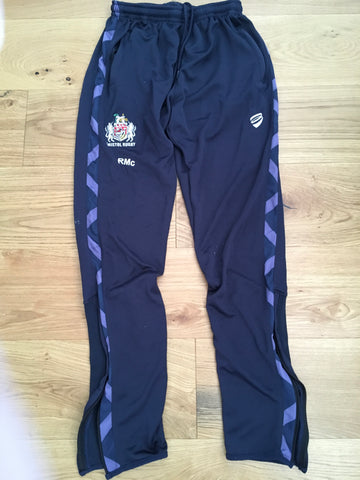 Ross McMillan - Bristol Rugby Jogging Pants [Purple & Blue]