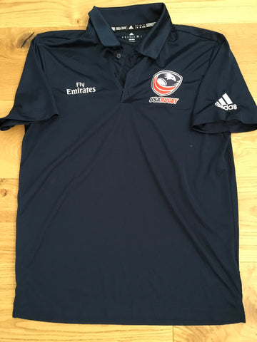 Mike Friday - Team USA Rugby 7's Polo Shirt [Blue]