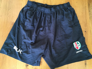 Ollie Hoskins - London Irish Gym Shorts [Charcoal]