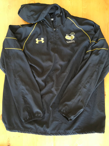 Simon McIntyre - Wasps Lined Hooded Top [Black & Gold]