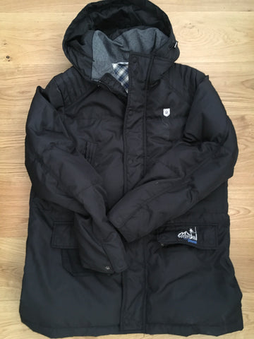 Simon Shaw - 6 Stations Padded Jacket [Black]