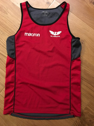 Tom Varndell - Scarlets Gym Vest [Red]