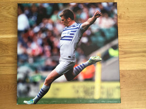 Canvas Block Print - Owen Farrell - Saracens